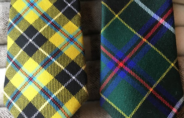 Tartan at Forget Me Not Holidays