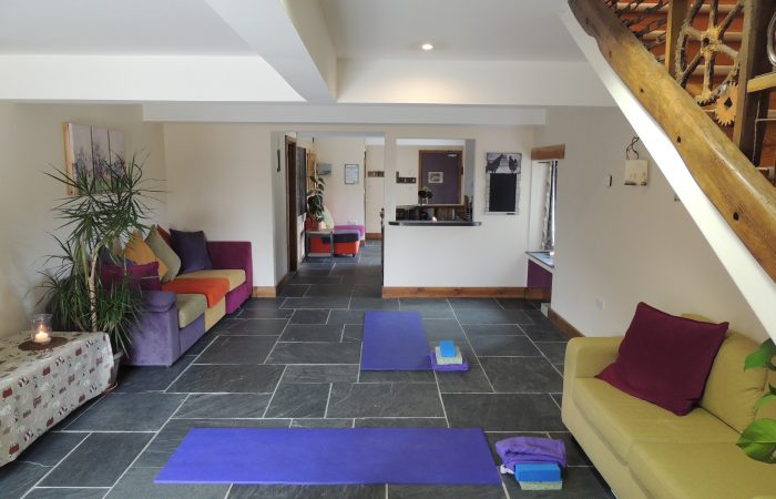 The Rosehip Barn at Forgetmenot with Yoga
