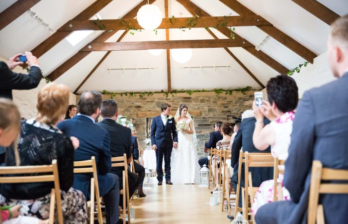 Weddings at The Rosehip Barn at Forgetmenot